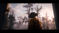 Old Town (Skinny LSD) Tags: red dead redemption 2 videogame lovuguys photo ps4 filmphotography rockstar cinematic cowboy western westworld wallpaper wood art arthur tree light