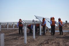 Foto11 (Intendente de Tarapacá) Tags: intendente quezada y ministra de energía participaron en la instalación los 1ros paneles fotovoltaicos granja solar 22052019