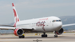 Air Canada Rouge / Boeing 767-300 / C-GEOQ (Once Photo) Tags: 737 747 767 777 787 a320 a321 a350 a380 bcn lebl a340 airbus aircraft airplane airport alabe avgeek aviation aviationdaily aviationgeek aviationlovers aviationphotography blade boeing cockpit crew d7200 easyjet fan flight fly flying instaplane jet landing level nikon nikond7200 photography pilot pilotlife plane planes planespotter planespotting rampagent ryanair sharklet sunset takeoff tamron taxiing turbofan united vueling winglet b767 767300 aircanada canada rouge cf680
