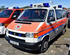 DRK Stuttgart VW Transporter S.RK221 f (policest1100) Tags: drk stuttgart vw transporter