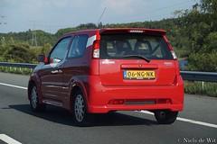2003 Suzuki Ignis Sport (NielsdeWit) Tags: nielsdewit car vehicle highway motorway a12 driving snelweg 06ngnk suzuki sport 2003 ignis