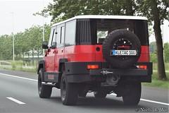 Amphicruiser (NielsdeWit) Tags: nielsdewit car vehicle highway motorway a12 driving snelweg germany amphicruiser amphi cruiser kleac100 kle ac100 ac 100 favourite dutch amphibious amfibious transport dat
