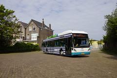 Van Hool A300-HYB Arriva 4850 met kenteken BX-NT-17 in de bus garage van Leiden 18-05-2019 (marcelwijers) Tags: van hool a300hyb arriva 4850 met kenteken bxnt17 de bus garage leiden 18052019