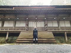Steps (anhexplorer) Tags: myself danjogaran japan wakayama koyasan temple buddhism religious mist travel travelling asia wooden historic unesco old explore building steps