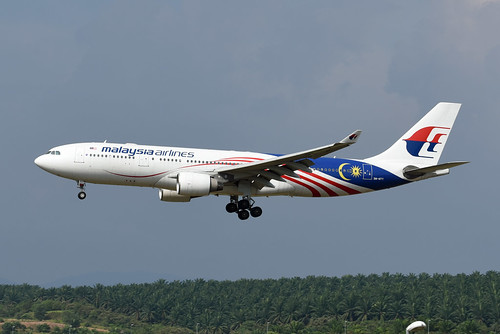 Malaysia Airlines Airbus A330-223 9M-MTY Malaysia Negaraku