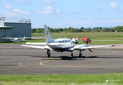 G-BPYR Piper PA-31 Navajo, 2 Excel Aviation Ltd, Gloucestershire Airport, Staverton, Gloucestershire (Kev Slade Too) Tags: gbpyr piper pa31 navajo 2excelaviationltd egbj gloucestershireairport staverton gloucestershire