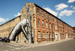 @phlegm at the Eye Works (PDKImages) Tags: sheffield sheffieldstreetart streetart urbanart urban pasteup art city walls
