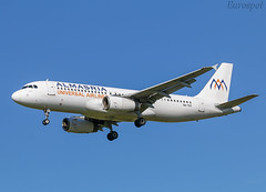 SU-TCF Airbus A320 Almasria (@Eurospot) Tags: sutcf airbus a320 1561 almasria lfbo toulouse blagnac 9vsle