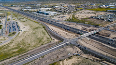 Indian School Road and US60 (35th Ave) (Arizona Department of Transportation) Tags: transportation construction signs maintenance freeways highways trafficinterchange safety phoenix az usa