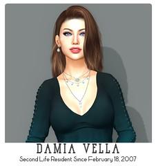 2019 Yearbook (Damia Vella) Tags: secondlifechallenge secondlifeyearbook rezday twelveyears blueberry stealthic swallow amias izzies lumipro playmate escort amala
