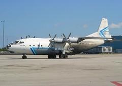 Avialeasing                                        Antonov AN12                                      UR-11418 (Flame1958) Tags: avialeasing avialeasingan12 antonov antonovan12 ur11418 opf kopf opalockaairport 160205 0205 2005 1841