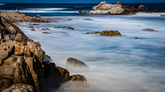 Rocks in the Mist No.7 (CDay DaytimeStudios w /1 Million views) Tags: ca pebblebeach water 17miledrive pacificcoasthighway bluesky california highway1 montereyca pacificgrove carmelca ocean pacificcoast beach sky seascape coastline landscape rocks montereybay