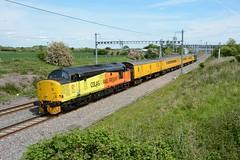 37521. Shrivenham. 22-05-2019 (*Steve King*) Tags: 37521 class 37 colas rail network test train shrivenham 1z22 tyseley bristol