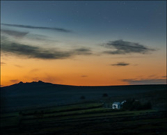 Little cottage, big landscape (Janner Matt) Tags: dartmoor night landscape