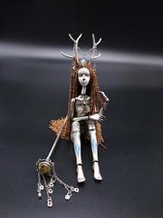 Alchemy Girl--Artemis (yolanda c.) Tags: artdoll ooak bjd sterling silver doll