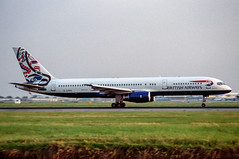 BA 757-200 Whale Rider (Martyn Cartledge / www.aspphotography.net) Tags: 757200 aerodrome aeroplane air aircraft airline airliner airplane airport aspphotography aviation boeing britishairways cartledge civilairline civilairliner flight fly flying flywinglets gcpeo jet martyn plane runway scan transport whalerider worldliveries wwwaspphotographynet wwwflywingletscom uk asp photography