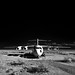 aerospace landscape (infrared). edwards afb, ca. 2012.