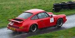 Porsche 911 - Radcliffe (rallysprott) Tags: sprott wdcc rallysprott 2019 mintex rally harewood hillclimb 2 porsche 911 red radcliffe rain motor sport rallying