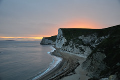 DSC_2071_00002 (giuseppe.cat75) Tags: sunset sea dorset durdle beach england