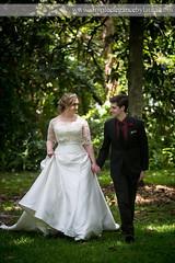 Walking Through the Meadow (Laura K Bellamy) Tags: bride groom wedding weddings couple