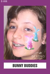 E-006 BUNNY BUDDIES (BEYOND Face Painting) Tags: easter animal animals bfp beyond originals