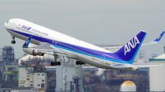 Boeing 767-381/ER(WL), JA621A, All Nippon Airways (tkosada.mac) Tags: allnipponairways staralliance boeing b763 tokyointernationalairport hanedaairport hnd rjtt