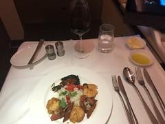 Catering LH796 FRA-HKG First (Travel Guys) Tags: lufthansa firstclass premièreclasse avgeek frequentflyer travel luxurytravel staralliance