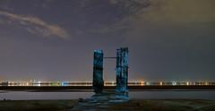 DAK02819, 23-42-37 (dima.kazan) Tags: казань волга верхнийуслон студенец снтвесна рассвет ночь пристань причал пирс дверь ворота калитка вникуда