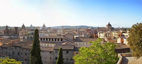 Roma Panoramica Dalla Terrazza Del Musei Capitolini