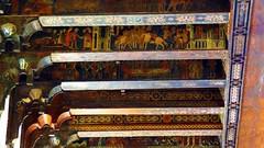 IMG_8352 -  storie del primo millennio nel soffitto della Sala Magna del Palazzo Chiaramonte Steri di Palermo (molovate) Tags: unipa rettorato università palermo palazzo steri chiaramonte tafme soffitto legno scolpito dipinto colorato tommaso vita medioevo volate sala grande molovate evola magna canon powershot sx40 hs saladeibaroni dipintidelsoffittoligneo 13771380