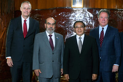 Meeting with Minister for Agriculture and Forestry (FAO News) Tags: fao directorgeneral ifad meetin minister lao mission laopeoplesdemocraticrepublic vientiane