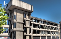 Pavilion House Scarborough. (ManOfYorkshire) Tags: pavilion house offices court brutal brutalism architecture concrete scarborough north yorkshire building uk england gb character disliked modernist