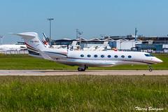 [ORY] Jordanian Government  Gulfstream G650 _ VQ-BNZ (thibou1) Tags: thierrybourgain ory lfpo orly spotting aircraft airplane nikon d810 tamron sigma jordaniangovernment gulfstreamg650 vqbnz takeoff abdallahii