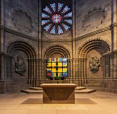 Dom in Worms; Westchor (ulrichcziollek) Tags: rheinlandpfalz worms dom westchor kirche kathedrale church chor kirchen romanik romanisch altar