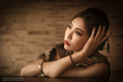 Belle (Francis.Ho) Tags: belle xt2 fujifilm girl woman female femme lady portrait people beauty pretty lips eyes hair face elegant glamour young sensuality fashion naturallight chinese cheongsam chipao qipao chineseculture