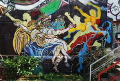 StreetBarroco_m6a (Sabri KARADOĞAN) Tags: philippethibaut thibaultpapin streetbarroco postgraffiti spraycanart streetart muralism muralart nicolaspoussin fineart contemporaryart artcontemporain