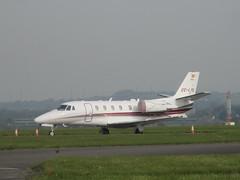 EC-LYL. (aitch tee) Tags: cessna 560xl citation eclyl bizjet aircraftspotting cardiffairport aviation cwlegff maesawyrcaerdydd walesuk
