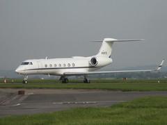 N587G. (aitch tee) Tags: n587g bizjet ttail gulfstream g550 aircraftspotting cardiffairport aviation cwlegff maesawyrcaerdydd walesuk