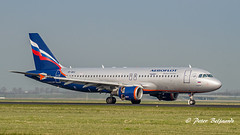 VP-BKX   Airbus A320-200 - Aeroflot - Russian (Peter Beljaards) Tags: vpbkx airbusa320200 a320 aeroflot polderbaan runway18r aviationphotography nikon7003000mmf4556 airplane aircraft jetliner msn3410 cfm565