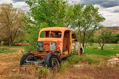 Saved (KPortin) Tags: htt truck rusty dilapidated escalante utah