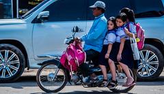 2019 - Cambodia - Sihanoukville - Phsar Leu Market - 24 of 25 (Ted's photos - Returns late November) Tags: 2019 cambodia cropped nikon nikond750 nikonfx tedmcgrath tedsphotos vignetting streetscene street motorcycle phsarleumarket phsarleumarketsihanoukville sihanoukvillecambodia sihanoukville people