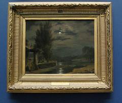 Moonlight scene: Valenciennes (Sabri KARADOĞAN) Tags: bowesmuseum valenciennes moonlight moon bowes museumbarnard castle