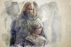 The Final Goodbye (Jackie XLY) Tags: gameofthrones got aryastark stark asoiaf clegane