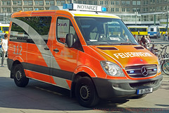 Berliner Feuerwehr (Martijn Groen) Tags: berlin deutschland europe may 2018 firedepartment feuerwehr emergency notartz doctor mercedesbenz mercedes sprinter
