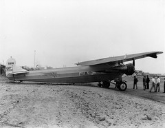 Morrow_0535 Fokker F-10 cn 1003 NC5614 at Lindbergh Field 1930 (San Diego Air & Space Museum Archives) Tags: nc5614 c5614 5614 cn1003 1003 richfieldoil richfield aviation aircraft airplane airliner airliners airlines fokker fokkerf10 fokkerf10deluxe f10deluxe fokkerf10asuperuniversal fokkerf10a f10asuperuniversal superuniversal fokkertrimotor prattwhitney prattwhitneyr1340 prattwhitneyr1340wasp prattwhitneywasp pwr1340 r1340 r1340wasp waspengine waspradial