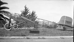 Morrow_0398 Heath Monoplane framework (San Diego Air & Space Museum Archives) Tags: nc7597 c7597 7597 fuselage