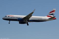 G-EUYW (Baz Aviation Photo's) Tags: geuyw airbus a320232 british airways baw ba heathrow egll lhr 27l ba831