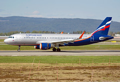 VP-BJW (Skidmarks_1) Tags: vpbjw airbusa320 aeroflot aircraft aviation airports norway engm oslo gardermoen osl oslogardermoenairport