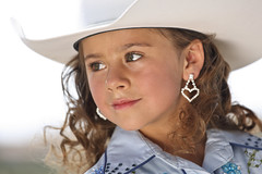 Victorville (Wiley C) Tags: cowgirl hat portrait victorville california march2019 earring