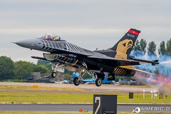"""F-16C Block 30E - Solo Türk """"Turkish Air Force"""" (Aimeric D. Photographies) Tags: aviation fighter avion lane planes airshow aircraft riat"""